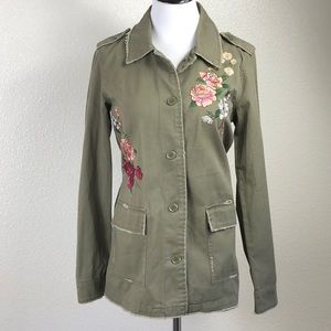 Maurices   Embroidered Khaki